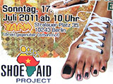 Weltfest am Boxhagener Platz 2011 - Shoe Aid Project
